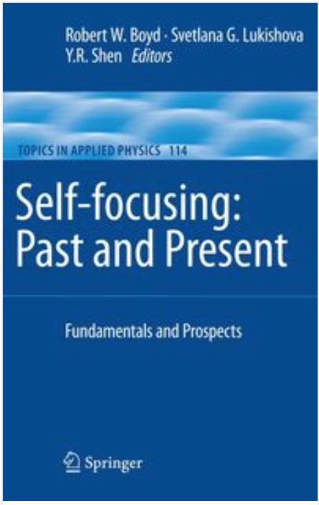 Book cover for Self-focusing: Past and Present